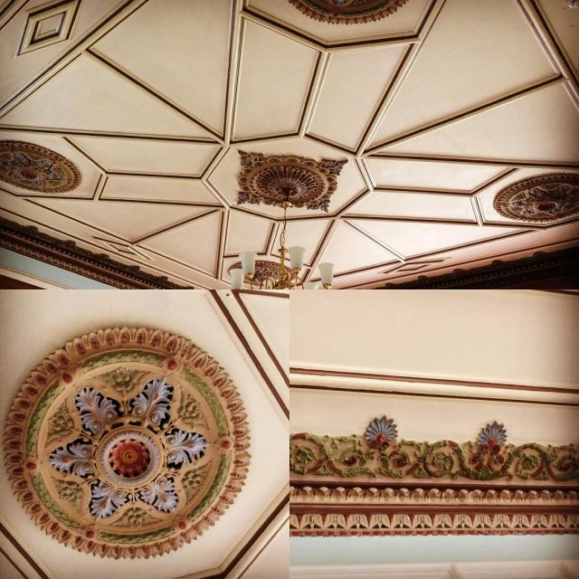 Ceiling detail in my Aunts nursing home cornice ceilings interiorstyle